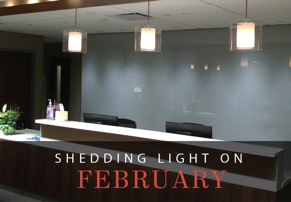 Shedding Light on February
