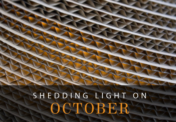 Shedding Light on October